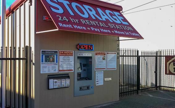 Westside Road Storage Kiosk