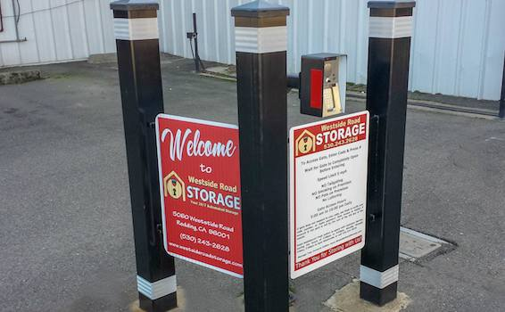 Westside Road Storage Keypad
