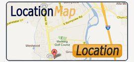 Location Map - Westside Road Storage